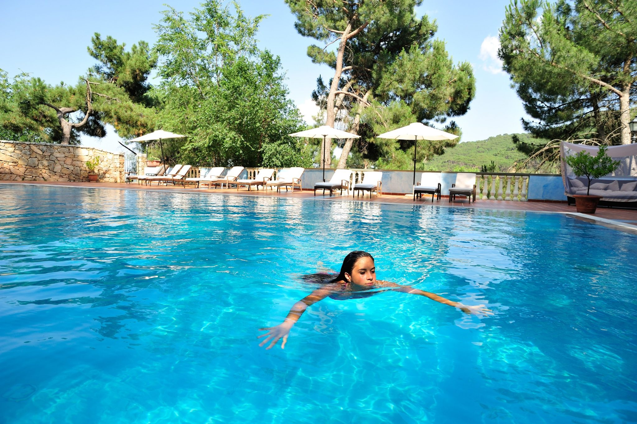 sardinia hotel swimming pool relax luxury bitti